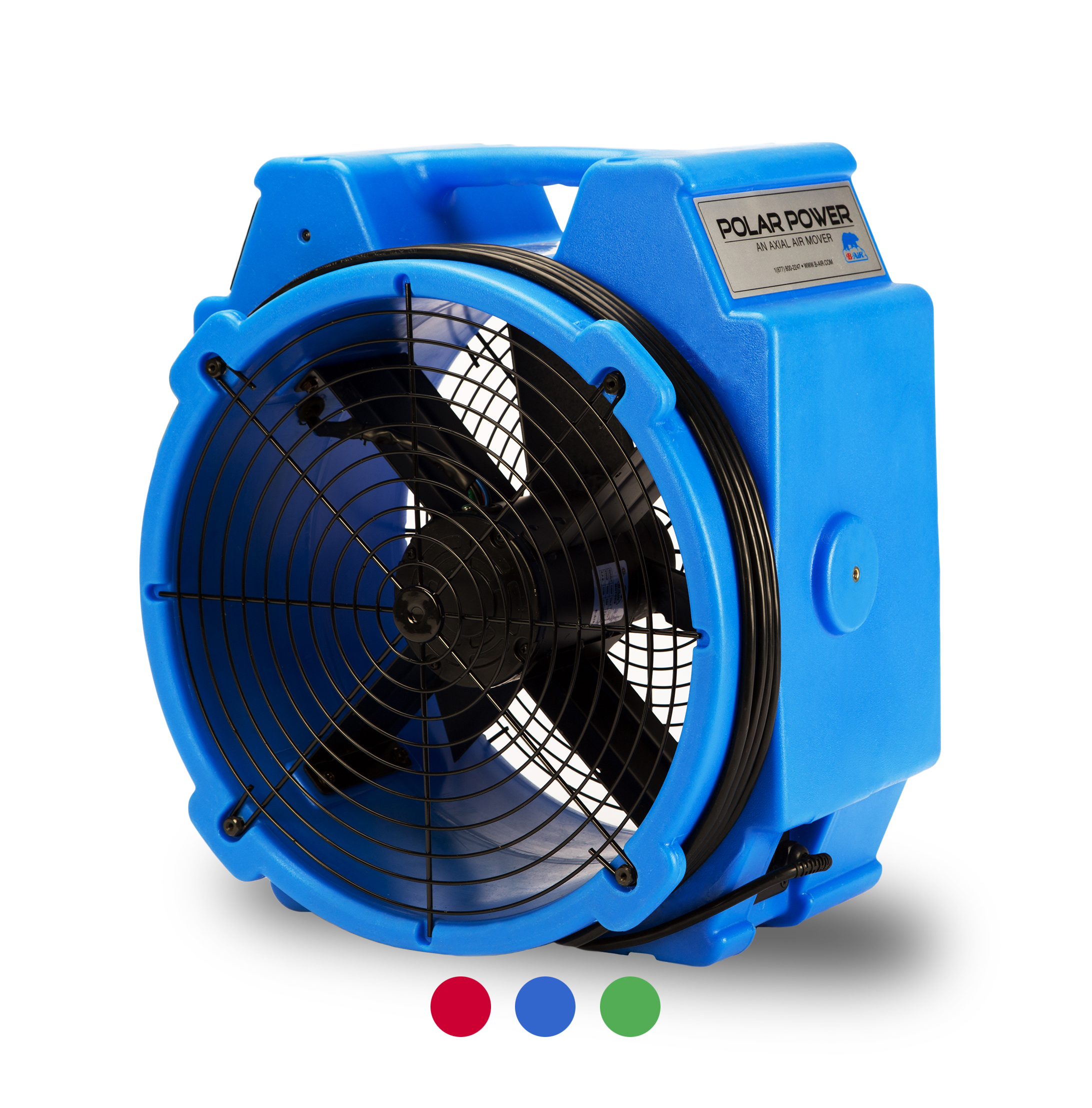 B-AIR® POLAR BEAR PB-25 air mover blue 5