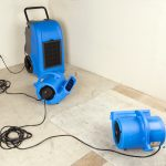 B-AIR® VENT VP-33 blue and dehumidifier