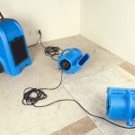 B-AIR® VENT VP-33 blue and dehumidifier 1