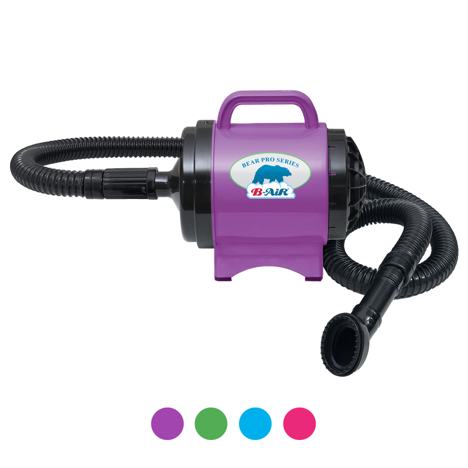 B-AIR® BEAR POWER BPD-1 Purple dryer 4