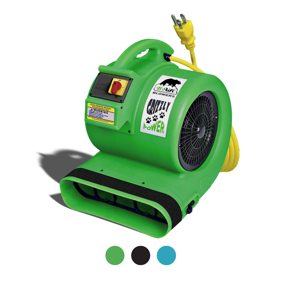 B-AIR® Grizzly GP-1 air mover geen