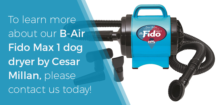 Contact B-Air to learn more about the Fido Max 1