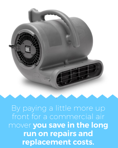 B-Air Air Mover Advantages