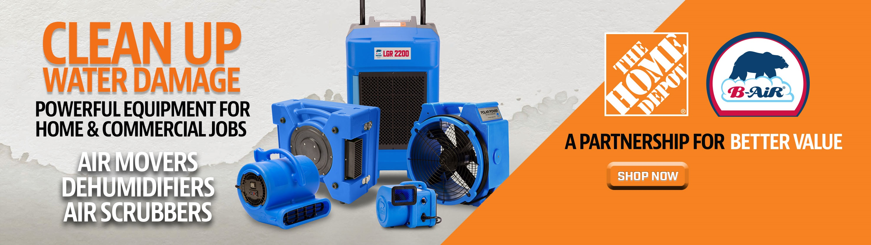 B Air Blowers Air Movers & Dehumidifiers