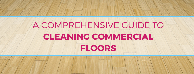 How to clean commercial tile vinyl carpet concrete for How to clean cement floor