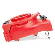 Red Ventlo 25 low profile air mover with stand