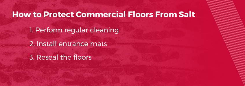 How to protect floors from salt damage